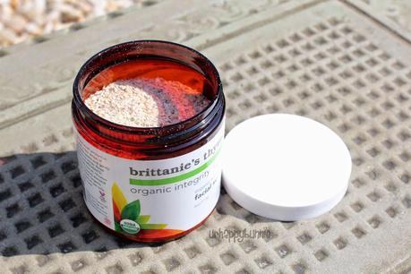 Brittanie's Thyme Organic Almond & Oatmeal Facial Scrub
