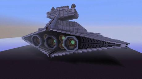 star wars film is recreated in minecraft paperblog