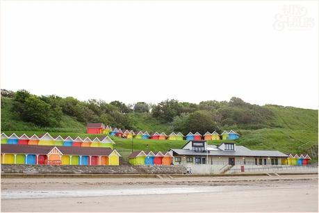North beach rainbow beach huts