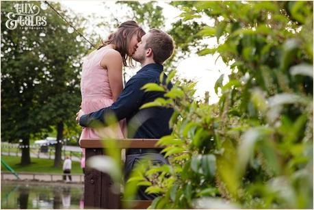 Peasholme park engagement shoot