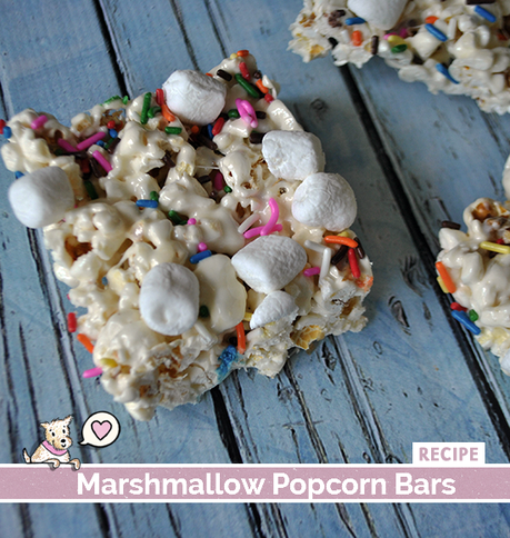 Marshmallow Popcorn Bars Recipe