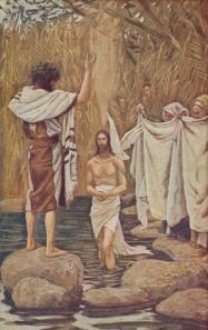 The Baptism Of Jesus (Mark 1)