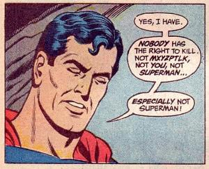 Superman Not Kill