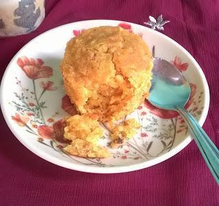 Eggless Carrot Muffins | Eggless Butterless Carrot Muffins