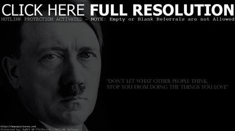 Adolf hitler inspirational