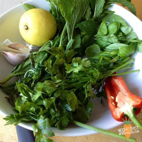 Fresh and Herby Salsa Verde