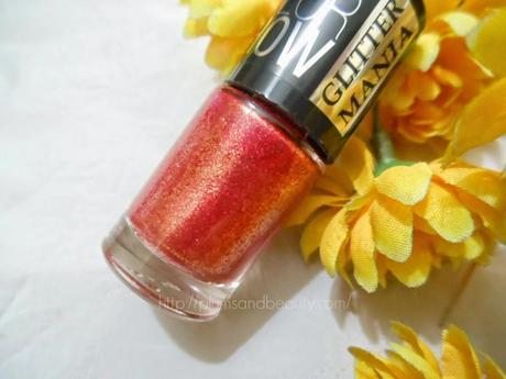 Maybelline Color Show Glitter Mania (604) Red Carpet
