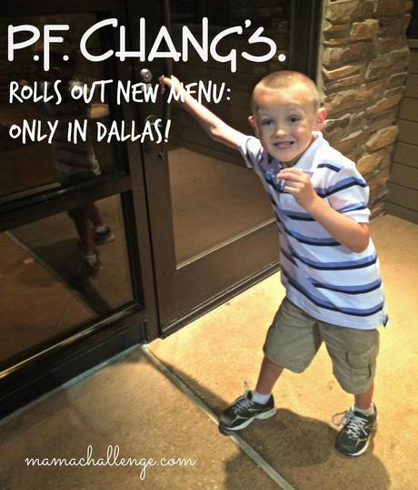 P.F. Chang's Rolls Out New Menu - Only in Dallas