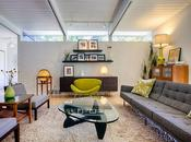 Mid-Century Modern Home Tour: Living Room