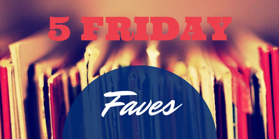 5 FRIDAY FAVES | BOOK QUOTES