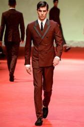 Bravo to the Dolce and Gabbana Spring-Summer 2015 Menswear Collection