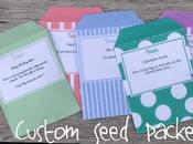 Create Your Seed Packets