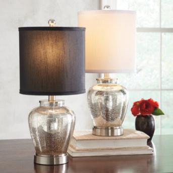 Diy A Mercury Glass Lamp With A Custom Fabric Shade For