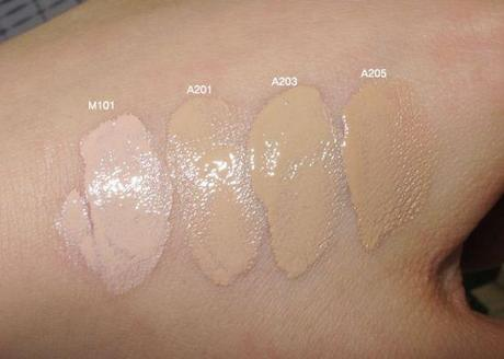 VDL Metal Cushion Foundation shades
