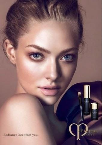 AMANDA SEYFRIED IN NEW CLÉ DE PEAU BEAUTÉ ADS