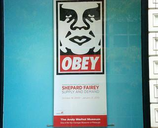 OBEY! Shepard Fairey: Supply and Demand