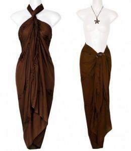 embroidered sarong in brown 8 e1406146566707 260x300 womens fashion
