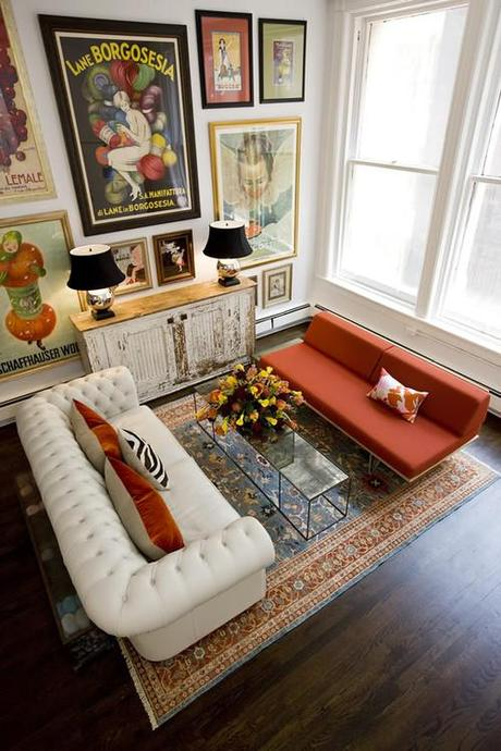 How to mix furniture styles like a pro paperblog for Eclectic furniture style