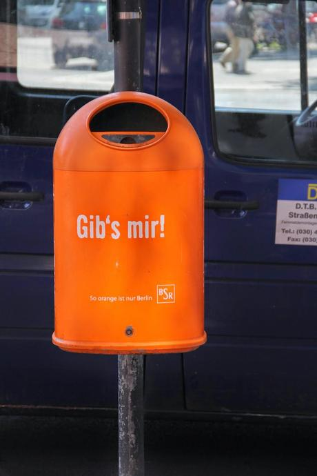 Keep Berlin Tidy 1 [Orange You Glad It's Friday]
