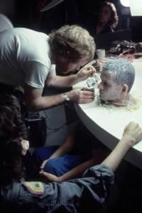 Ridley-Scott-putting-condensed-milk-on-the-face-of-Ian-Holm-on-the-set-of-Alien