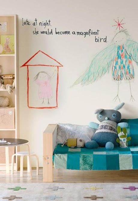 Crafty Quirky Boys Room With Plywood