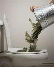 We've already flushed enough...