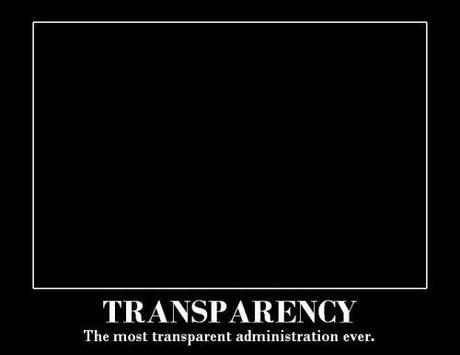 transparency is a lie