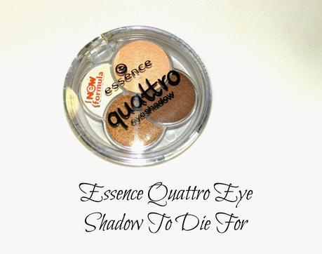 Essence Quatro Eye Shadow 05 To Die For Swatches