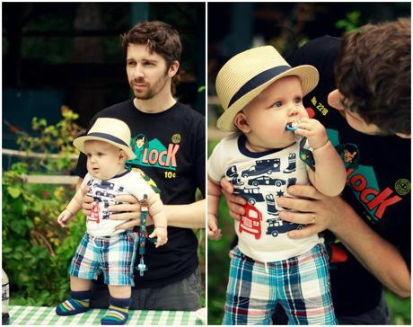 Asa and Daddy