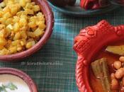Lunch Menu with Mochakottai Kuzhambu