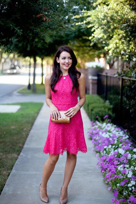 Pink Lace Dress - Paperblog