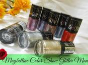 Maybelline Color Show Glitter Mania Nail Colors Photos, Swatches