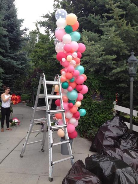 balloon arch tutorial paperblog