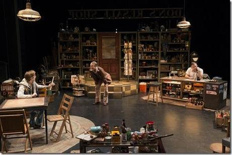 a review of american buffalo Live theater is a new experiment each night the actors are the primary variable, but the collective mood of an audience asserts a little gravitational pull that the cast doesn't experience until the seats are filled at dorset theatre festival's production of david mamet's american buffalo, some of those seats.