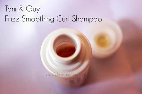 Toni & Guy Frizz Smoothing Curl Shampoo + Conditioner : Review