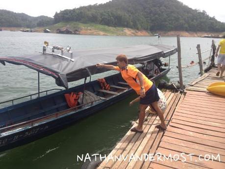 Mae Ngat Dam Floating on Houseboats - Paperblog