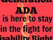 Generation Here Stay Fight Disability Rights