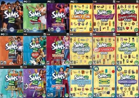 The Sims 2 Plus All Expansion and Stuff Packs For FREE Until July