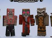 Minecraft Guardians Galaxy Skins Come Xbox