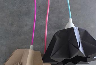 Комната из оригами