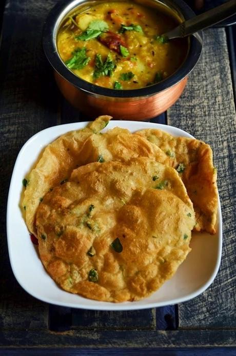 Methi poori recipe,how to make methi poori | Poori recipes