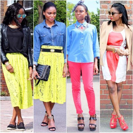 Today I'm Wearing: July '14 Looks