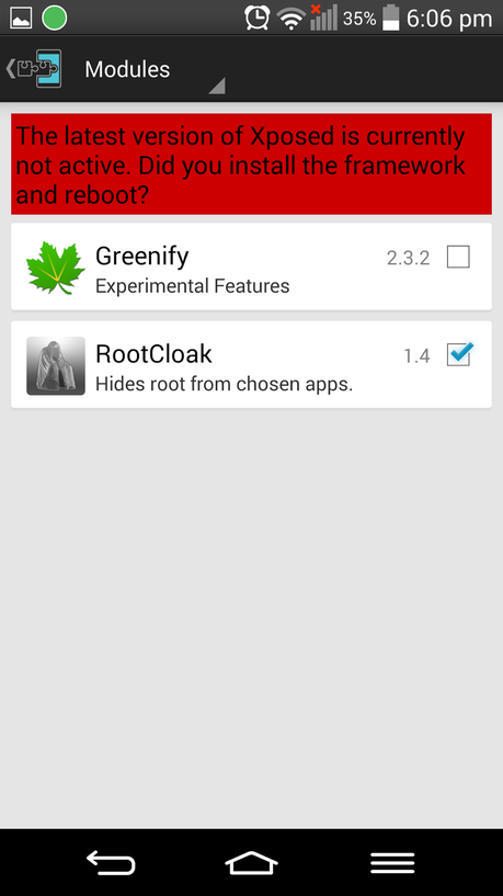 Fix: ThreeinTouch on a Rooted Android Device.