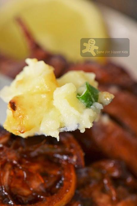 Sticky Lemon Chicken with Champ (Gordon Ramsay)