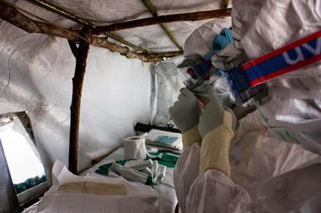 Ebola outbreak in W. Africa causing panic, out of control in some areas