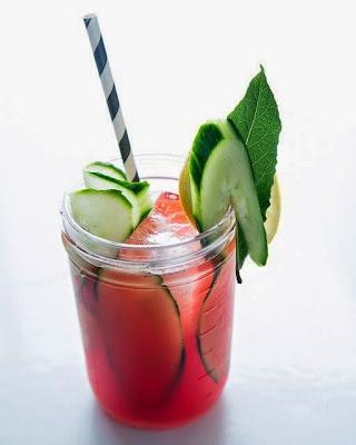 Happiness is Cold Watermelon.....Cocktails | Celebrate National Watermelon Day w/ Drinks