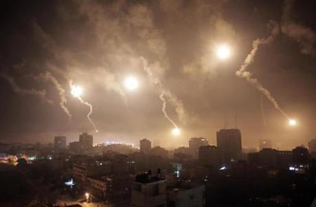 Hamas rockets over Israel
