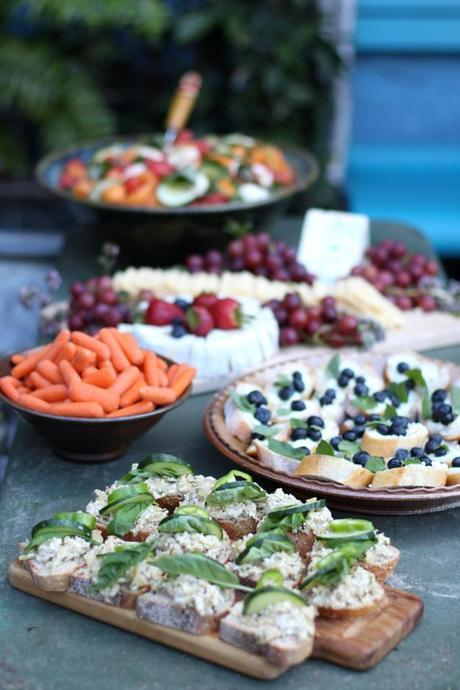 Garden Party Spread