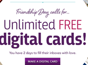 Friendship Special: Unlimited Free Digital Cards from Treat Days Only!