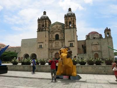Plaza Santo Domingo, Oaxaca.